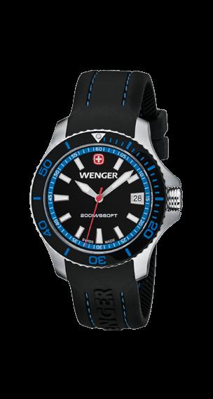 Wenger W's Sea Force Blå/Svart (01.621.102)